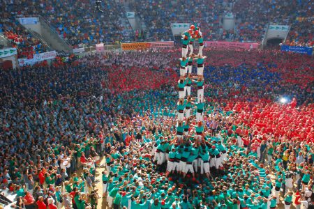 Les castells, tradition catalane